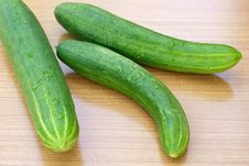 Free Green Young Cucumber Stock Images - 14982284