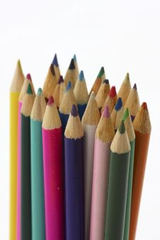 Free Color Pencil Stock Photography - 14982632