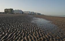 Free Beatiful Beach At El Puerto De Santa Maria Stock Photography - 14983062
