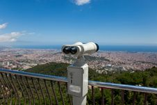 Free Coin Operated Binocular Stock Image - 14984001