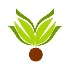 Free Leaf Emblem Stock Photography - 14984612