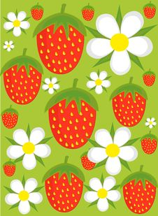 Free Strawberry Background Stock Images - 14984634