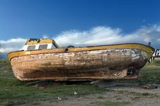 Free Old Boat Royalty Free Stock Photos - 14984868