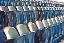Free Retro Stadium Seats Stock Photo - 14984950