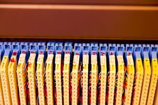 Free Rack Mounted Servers Royalty Free Stock Photo - 14984985