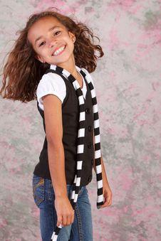 Free Cute Latina Girl Stock Photography - 14985482