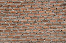 Free Brown Colokr Brick Wall Stock Images - 14985494