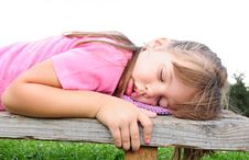 Free Girl Sleeping Stock Photo - 14985550