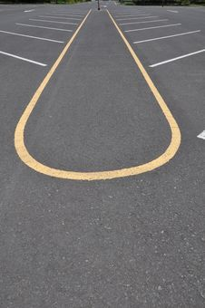 Free Empty Parking Lane Stock Images - 14985854