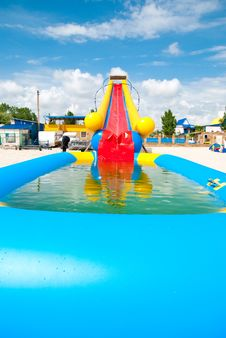 Free Water Slide Stock Images - 14986984