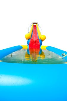 Free Water Slide Royalty Free Stock Photo - 14986985