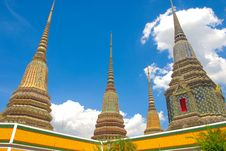 Free Temple In Thailand Stock Image - 14987711