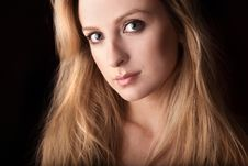Free Portrait Of Attractive Young Blond Woman. Royalty Free Stock Images - 14987899