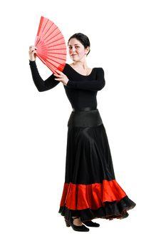Free Flamenco Dancer Stock Photo - 14987910