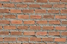Free Brown Color Brick Wall Stock Images - 14989704