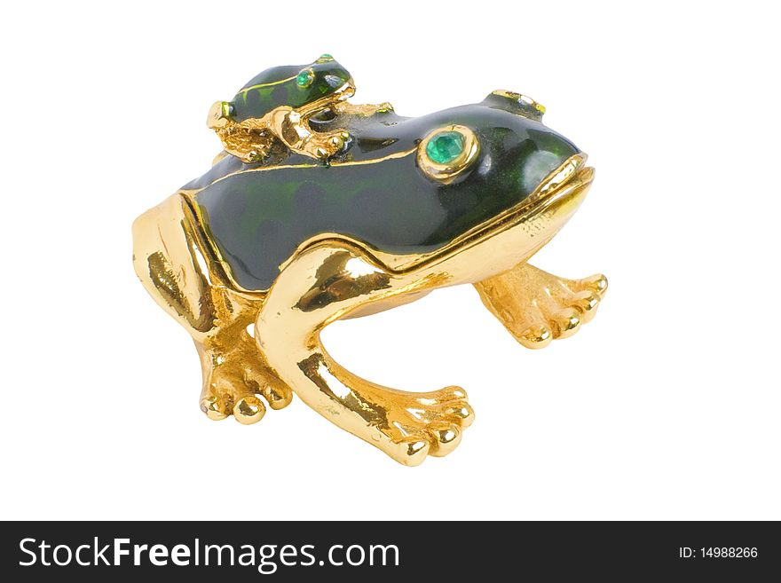 Frogs   Isolated