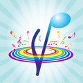 Free Abstract Background With Violin Key Stock Images - 14992604