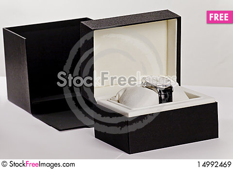 Free Watch In A Box Royalty Free Stock Images - 14992469