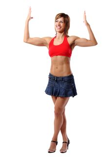 Free Funny Biceps Pose Stock Photos - 14991783