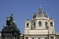 Free Maria Theresia Statue And Museum In Vienna Royalty Free Stock Image - 14991786