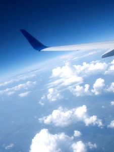 Free Airplane Wing Royalty Free Stock Images - 14992229