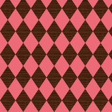 Free Wooden Diamond Pattern Stock Photo - 14992560