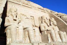 Free Abu Simbel Royalty Free Stock Photos - 14992568