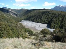 Free Arthurs Pass Valley Stock Photography - 14992712