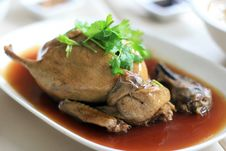 Free Roast Duck Stock Image - 14992781