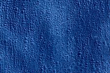 Blue Protective Material Made Of Paper Fibers Royalty Free Stock Photography