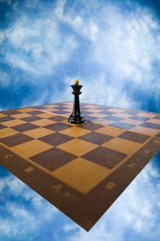 Free Chessmen On A Chessboard Stock Image - 14993411