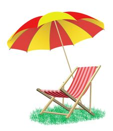 Free Beach Deck-chair Stock Photo - 14993860