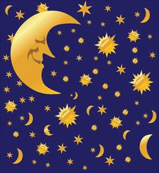Free Night Sky Background, Stock Image - 14994171