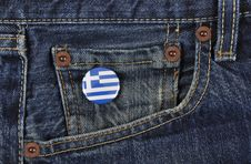 Free Greece Supporter Royalty Free Stock Photos - 14994198