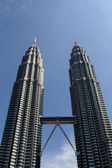 Free Petronas Towers Royalty Free Stock Photography - 14994487