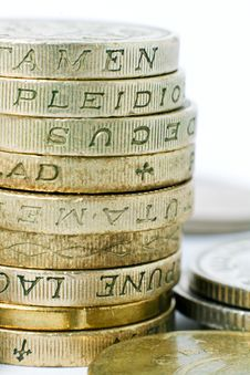 Free British Pound Coins Close Up Stock Photo - 14994600