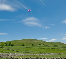Free Kite Over England Royalty Free Stock Photography - 14995047