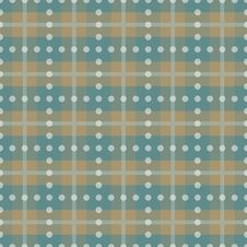 Free Brown And Blue Plaid Stock Image - 14995171