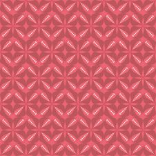 Free Red Flower Pattern Royalty Free Stock Images - 14995229