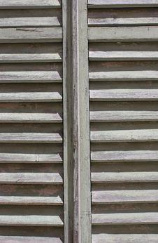Free Wooden Window Door Stock Images - 14995474