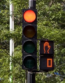 Free Stop Lights Royalty Free Stock Image - 14996036