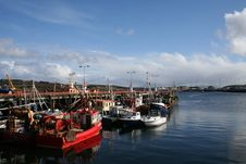 Free Fishing Harbour Royalty Free Stock Photos - 14996428