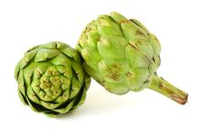 Free Artichokes Isolated On White Background Royalty Free Stock Photo - 14996445