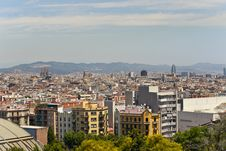 Free View From Montjuic Stock Photos - 14997573
