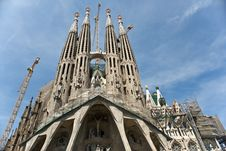 Free Sagrada Familia Royalty Free Stock Image - 14997586