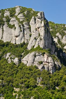 Free Montserrat Mountain Stock Photo - 14997610
