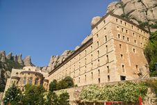 Free Monastery Montserrat Royalty Free Stock Photography - 14997617