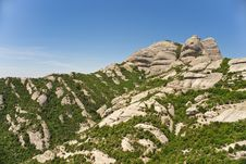 Free Montserrat Mountain Royalty Free Stock Photos - 14997678