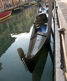 Free Gondola In Venice Royalty Free Stock Images - 14997779