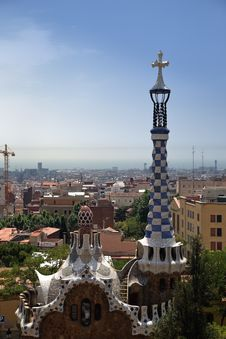Free Güell Park Royalty Free Stock Images - 14997889